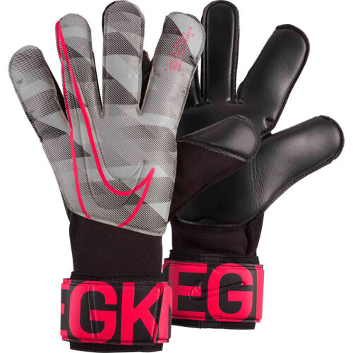 Nike GFX Grip3 Goalkeeper Gloves – White/Black/Laser Crimson