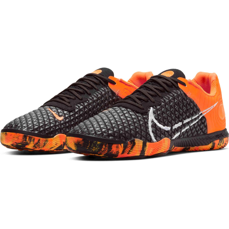 Nike React Gato IC - Black & Total Orange - SoccerPro