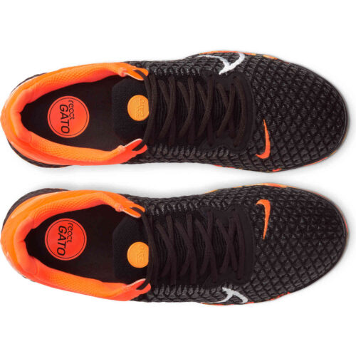 Nike React Gato IC – Black & Total Orange