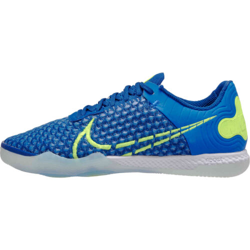 Nike React Gato IC – Racer Blue & Volt with Deep Royal Blue with White