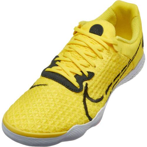 Nike React Gato IC – Opti Yellow & Dark Smoke Grey with White with Opti Yellow with Bright Crimson