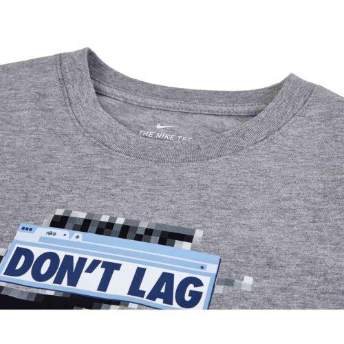 """Kids Nike """"Future Fast"""" L/S Tee – Dark Grey Heather"""