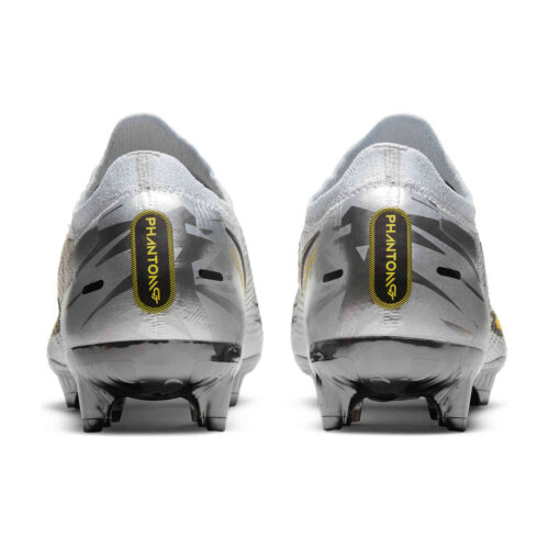 Nike Phantom GT Elite FG – Pure Platinum & Metallic Silver with Black