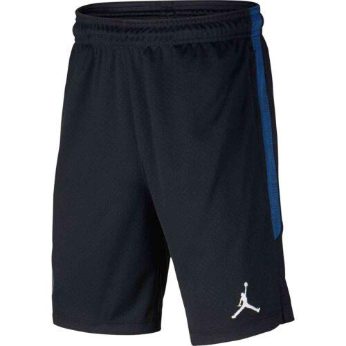 Kids Jordan PSG 4th Dry Strike Training Shorts – Black/Hyper Cobalt/White