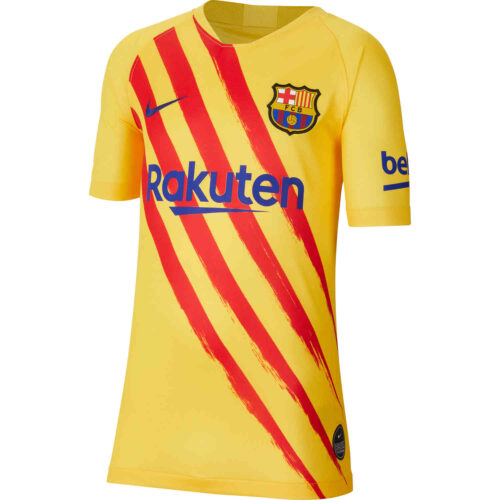 2019/20 Kids Nike Barcelona El Clasico Jersey