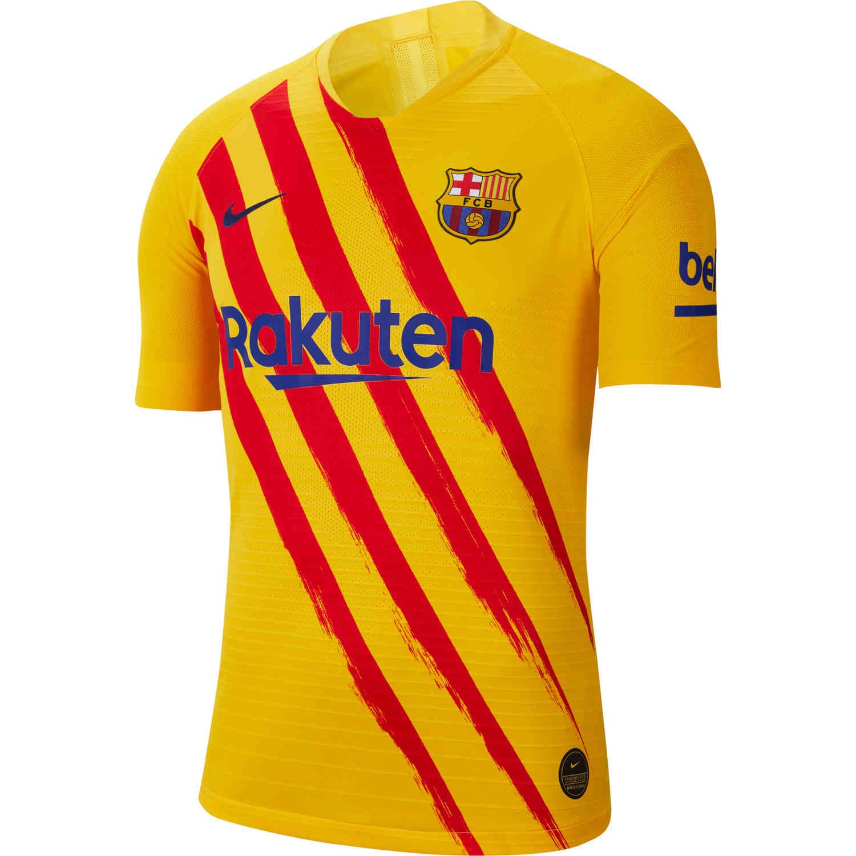 2019 20 Nike Barcelona El Clasico Match Jersey Soccerpro