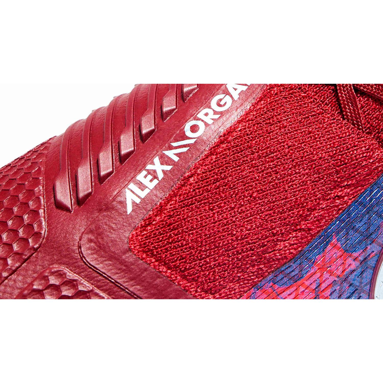 b97766ad6 Womens Nike Alex Morgan Phantom Venom Elite FG – Team Red Metallic Silver