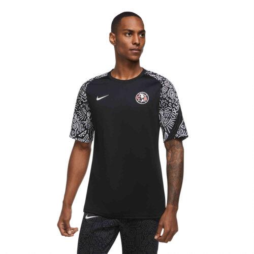 Nike Club America Pre-Match Top – Black/Black/White