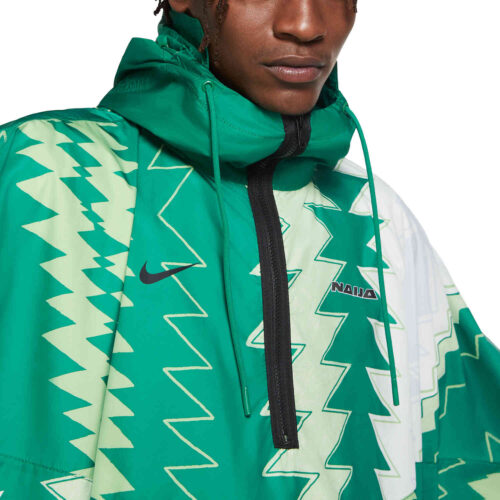 Nike Nigeria Poncho – Pine Green/Sub Lime
