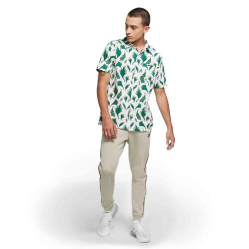 Nike Nigeria Button Down Shirt – White/black