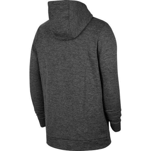 Nike Therma Hoodie – Charcoal Heather/Black