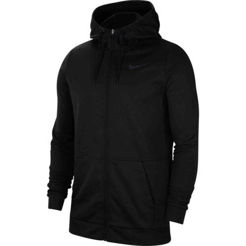 Nike Therma Full-zip Hoodie – Black/Dark Grey