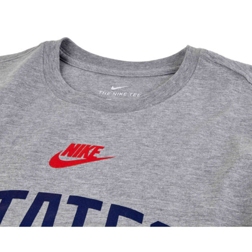 Nike USMNT States Tee – Dark Grey Heather