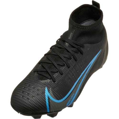 Kids Nike Mercurial Superfly 8 Pro FG – Black Pack