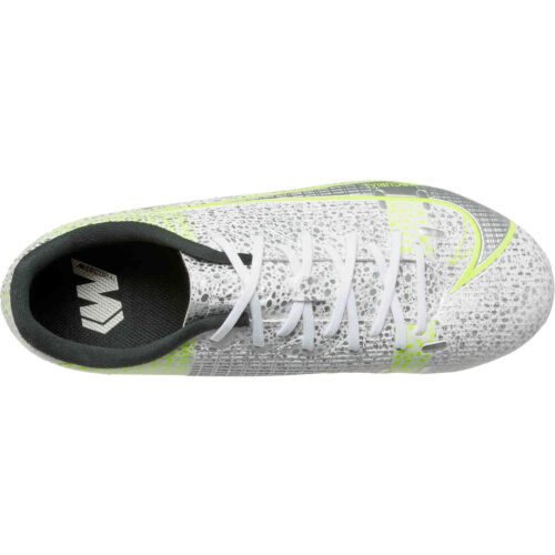 Kids Nike Mercurial Vapor 14 Academy FG – Silver Safari