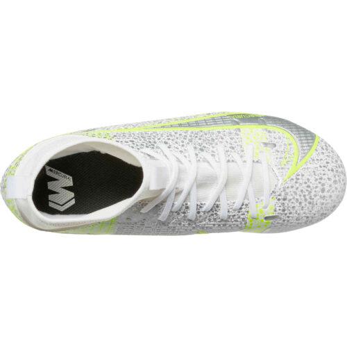 Kids Nike Mercurial Superfly 8 Academy FG – Silver Safari