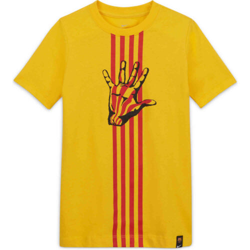 Kids Nike Barcelona El Clasico Tee – Varsity Maize