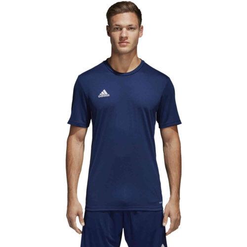 adidas Core 18 Training Jersey – Dark Blue/White