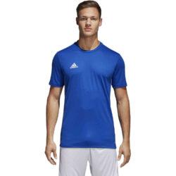 adidas Core 18 Training Jersey - Bold Blue/White - SoccerPro