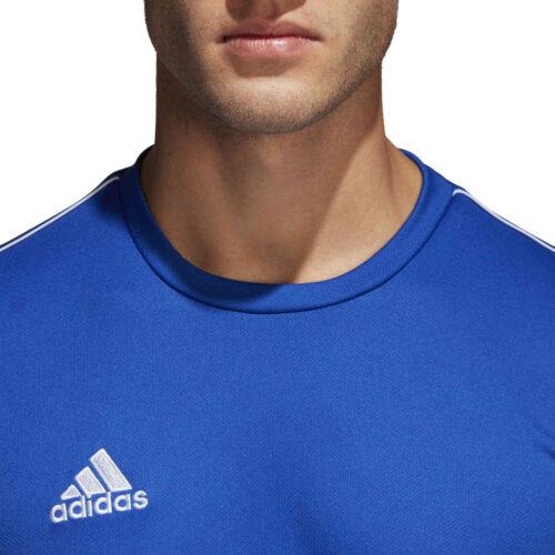 adidas Core 18 Training Jersey – Bold Blue/White