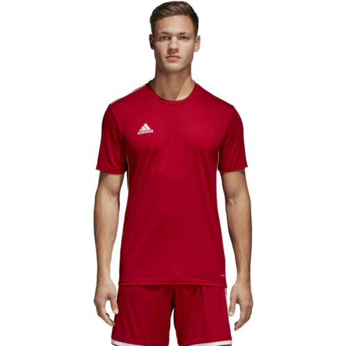 adidas Core 18 Training Jersey – Power Red/White