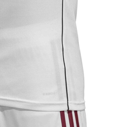 adidas Core 18 Training Jersey – White/Black
