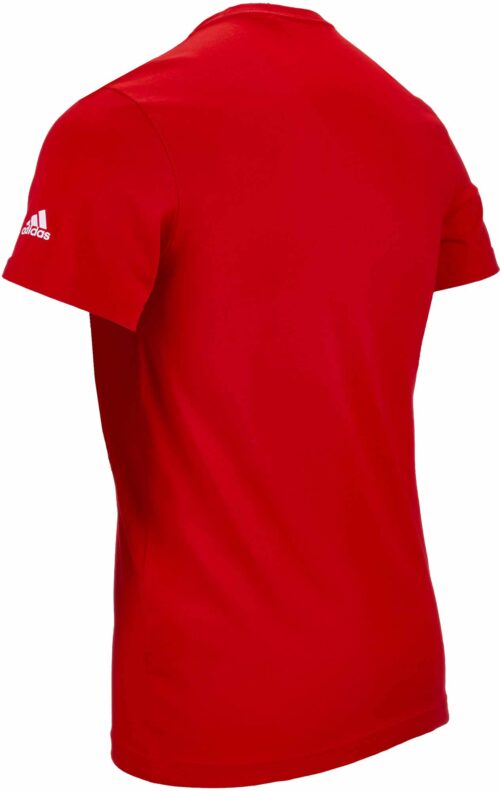 adidas World Cup Emblem Tee – Youth – Red