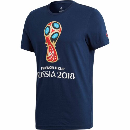 adidas World Cup Emblem Tee – Collegiate Navy