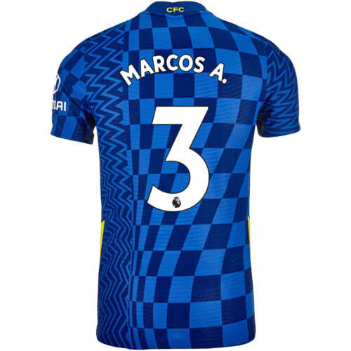 2021/22 Nike Marcos Alonso Chelsea Home Match Jersey