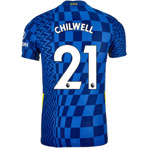 2021/22 Nike Ben Chilwell Chelsea Home Match Jersey