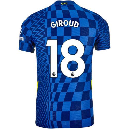 2021/22 Nike Olivier Giroud Chelsea Home Match Jersey