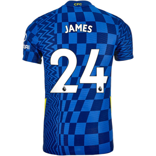 2021/22 Nike Reece James Chelsea Home Match Jersey