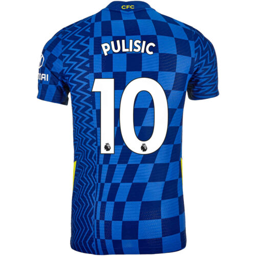 2021/22 Nike Christian Pulisic Chelsea Home Match Jersey