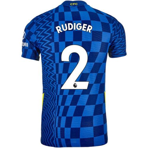 2021/22 Nike Antonio Rudiger Chelsea Home Match Jersey
