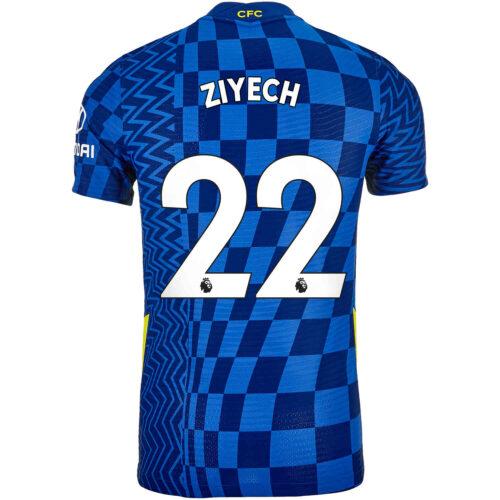2021/22 Nike Hakim Ziyech Chelsea Home Match Jersey