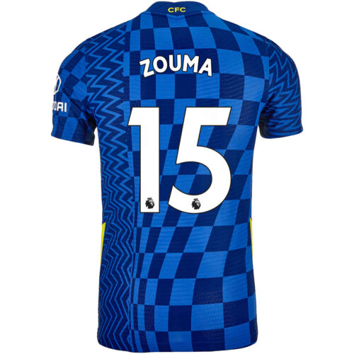 2021/22 Nike Kurt Zouma Chelsea Home Match Jersey