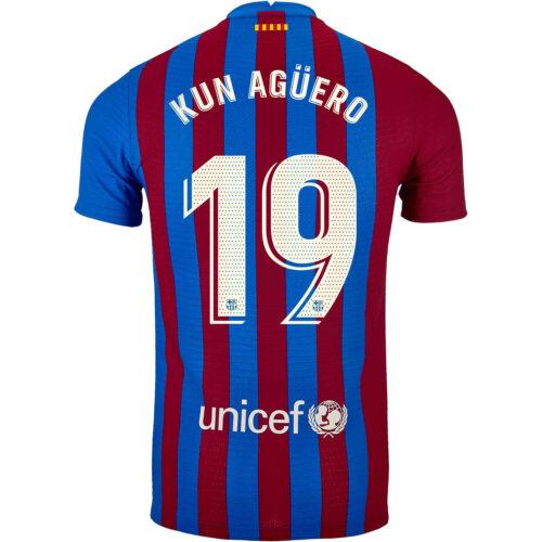 2021/22 Nike Sergio Aguero Barcelona Home Match Jersey