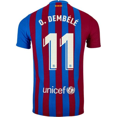 2021/22 Nike Ousmane Dembele Barcelona Home Match Jersey