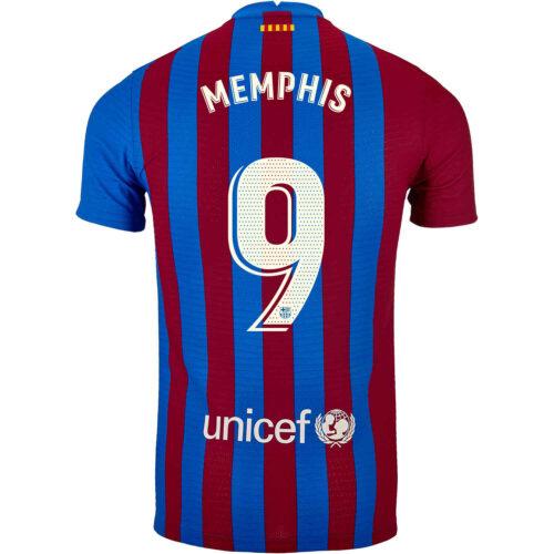2021/22 Nike Memphis Depay Barcelona Home Match Jersey