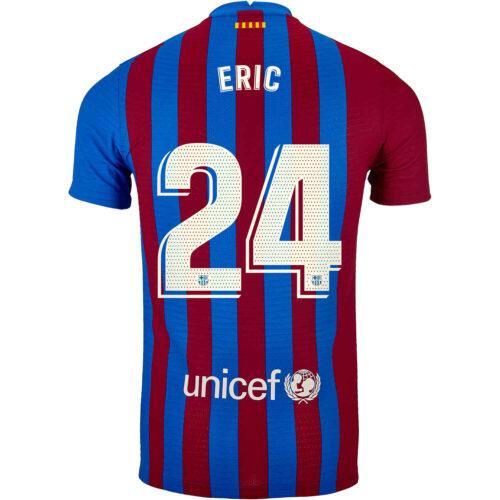 2021/22 Nike Eric Garcia Barcelona Home Match Jersey