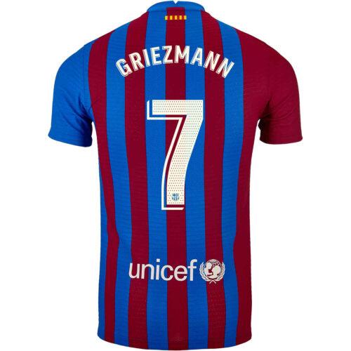 2021/22 Nike Antoine Griezmann Barcelona Home Match Jersey