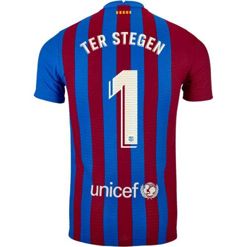 2021/22 Nike Marc-Andre ter Stegen Barcelona Home Match Jersey