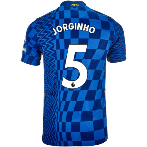2021/22 Nike Jorginho Chelsea Home Jersey