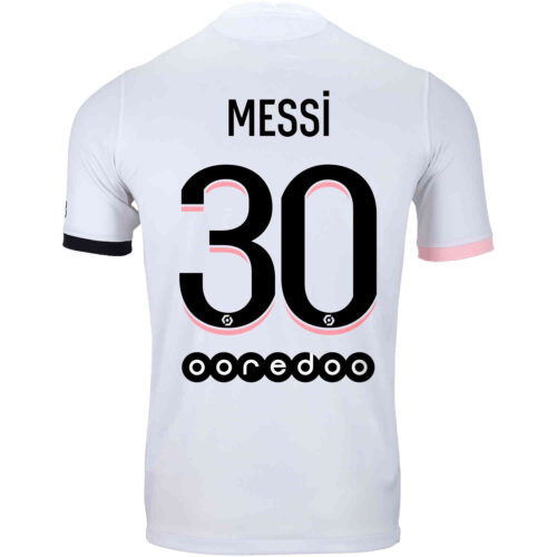 2021/22 Nike Lionel Messi PSG Away Jersey