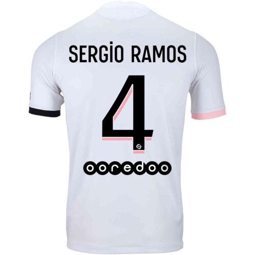 2021/22 Nike Sergio Ramos PSG Away Jersey
