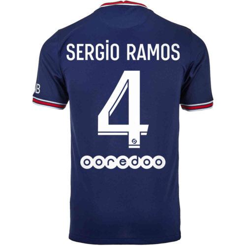 2021/22 Nike Sergio Ramos PSG Home Jersey