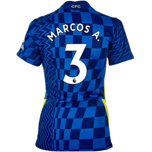 2021/22 Womens Nike Marcos Alonso Chelsea Home Jersey