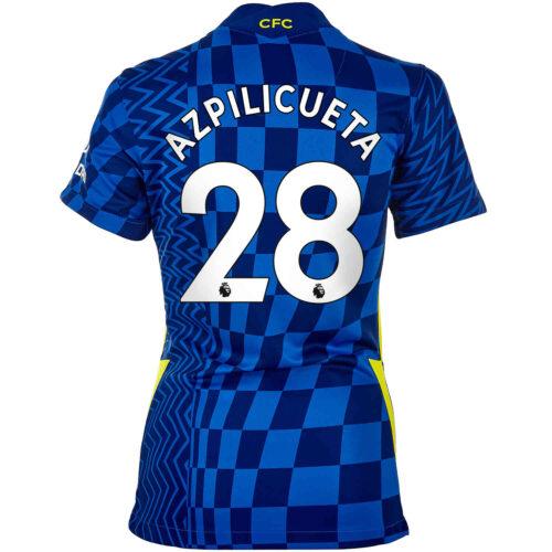 2021/22 Womens Nike Cesar Azpilicueta Chelsea Home Jersey