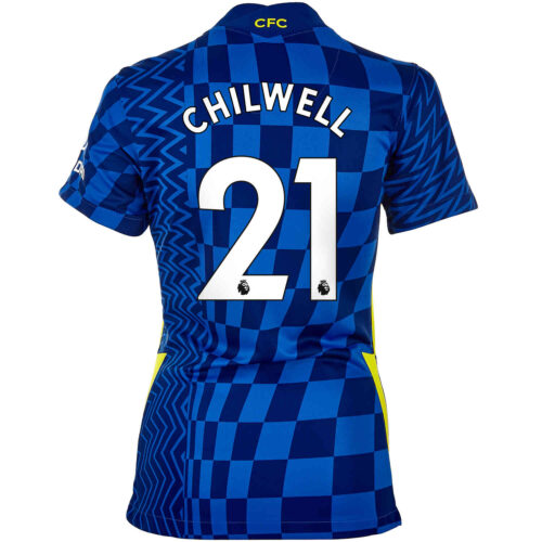 2021/22 Womens Nike Ben Chilwell Chelsea Home Jersey