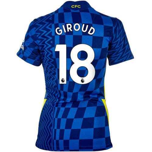 2021/22 Womens Nike Olivier Giroud Chelsea Home Jersey